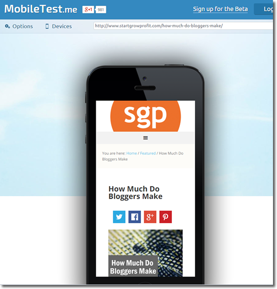 mobiletestme screencap